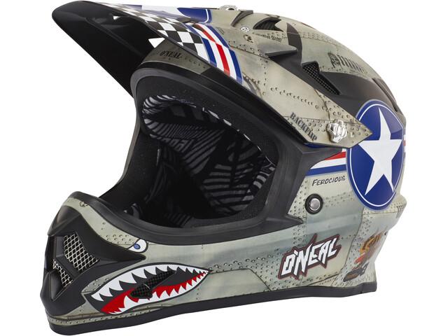 O'Neal Backflip Fidlock Helmet RL2 wingman (metal/white)
